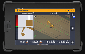 Trimble Earthworks for Excavators