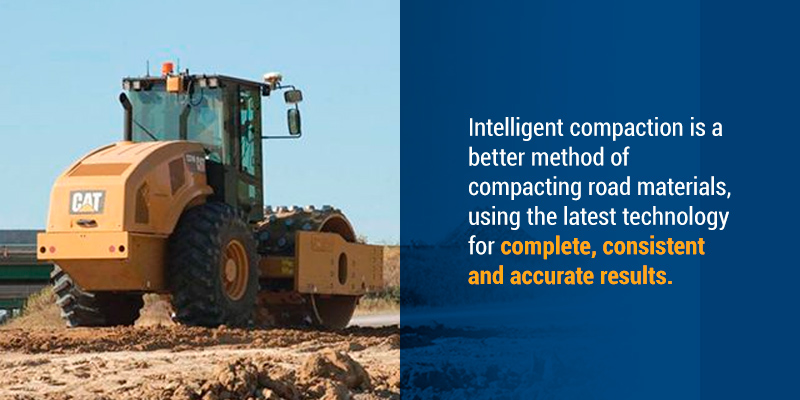 Intelligent compactionis a better method of compacting road materials, using the latest technology for complete, consistent and accurate results.