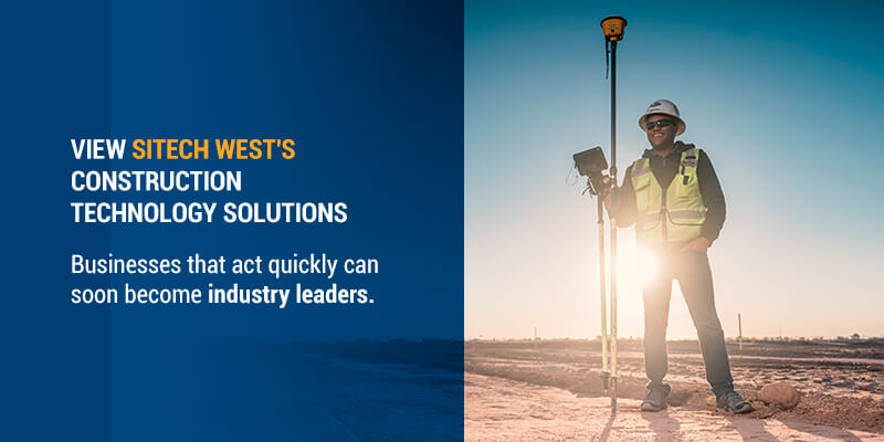 View SITECH West's Construction Technology Solutions
